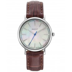Gant Watch Woman Only Time Stanford Lady Collection Brown