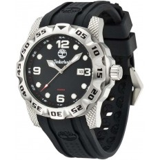 Timberland Watch Man Only Time Belknap Collection Silver