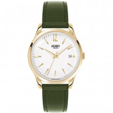 Henry London Watch Unisex Only Time Chiswick Collection Green