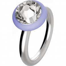 Hip Hop Ring Woman Happy Loops Collection Lilac