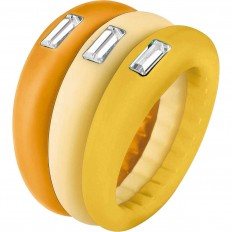 Hip Hop Ring Woman Trilogy Collection Yellow