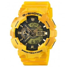 G-Shock Orologio Uomo Analogico e Digitale Yellow