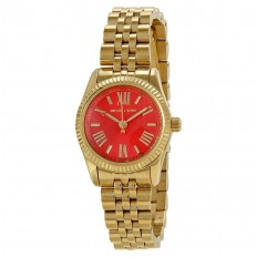Michael Kors Orologio Donna Solo Tempo Lexington Red