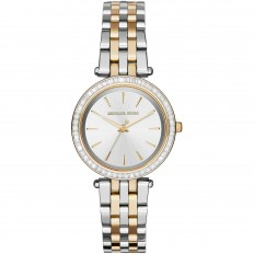 Michael Kors Women's Only Time Gold and Silver with Crystals