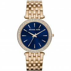 Michael Kors Women's Only Time Rose Gold and Blue