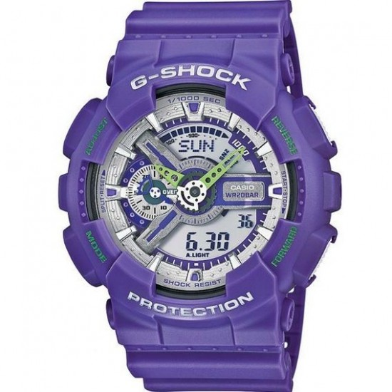G-Shock Watch Man Multifunction Purple