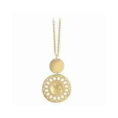 2Jewels Collana Donna Dorata con Pendente