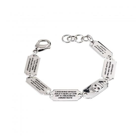 2Jewels Bracelet Man Inside Collection Silver