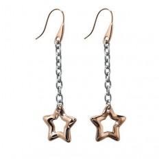 2Jewels Orecchini Donna Pendenti Stars