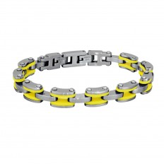 2Jewels Bracelet Man Wave Collection Yellow