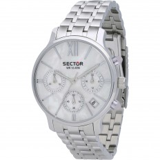 Sector Watch Woman Chronograph 125 Collection White Mop