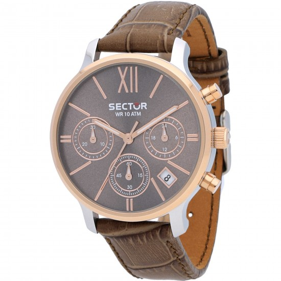 Sector Watch Woman Chronograph 125 Collection Brown