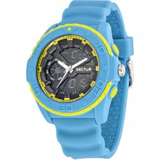 Sector Orologio Uomo Digitale Collezione Street Digital Light Blue