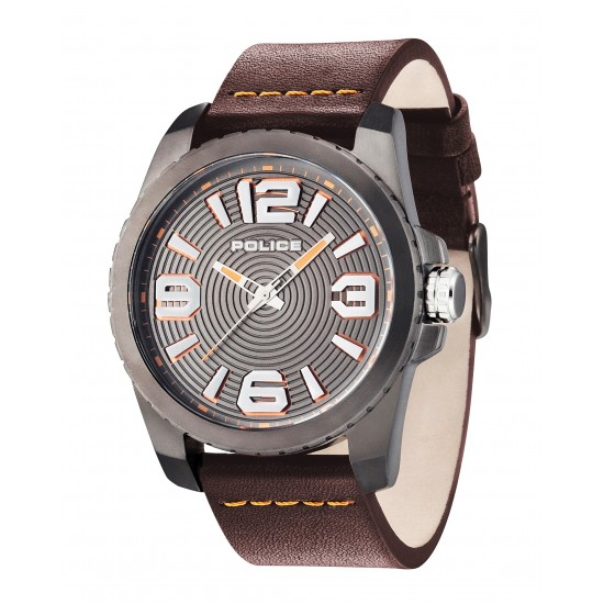 Police Watch Man Only Time Vinyl Brown