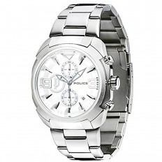 Police Watch Man Chronograph Silver