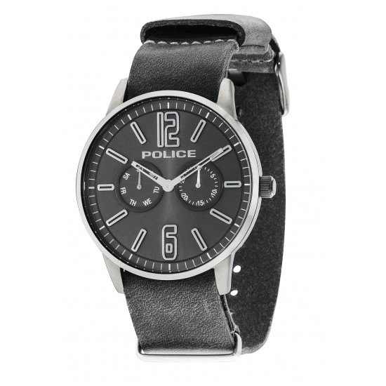 Police Watch Man Multifunction Esquire Collection Grey
