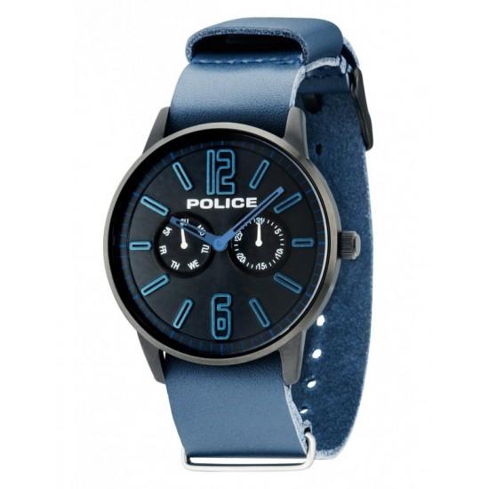 Police Orologio Uomo Multifunzione Esquire Blue PL. 14766JSB/02