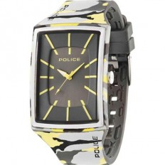 Police Watch Man Only Time Vantage Yellow/Grey