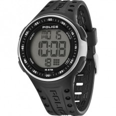 Police Watch Man Digital Indicator Collection