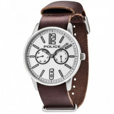Police Watch Man Multifunction Esquire Collection Brown