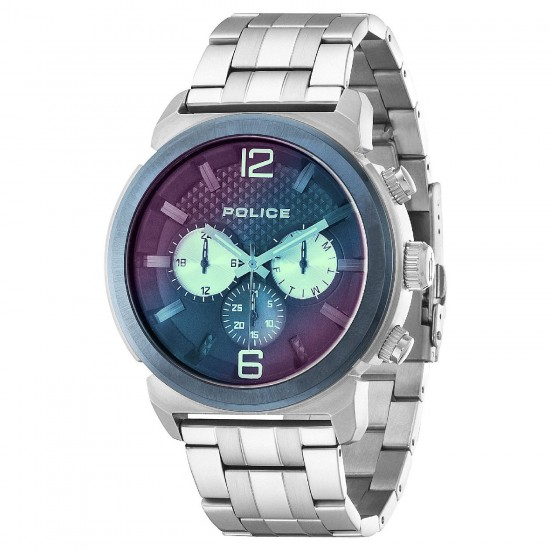 Police Watch Man Multifunction Concept Collection