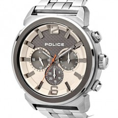 Police Watch Man Multifunction Concept Collection Grey