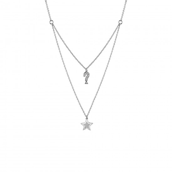 Guess Necklace Woman Feel Guess Collection Double