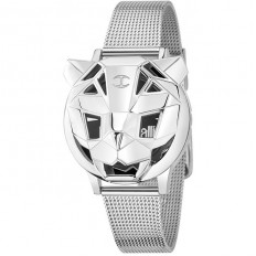 Just Cavalli Watch Only Time Woman Poison Collection Silver