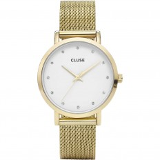 Cluse Watch Only Time Woman Gold Pavane Collection