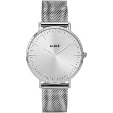 Cluse Watch Only Time Woman Silver/Silver La Bohème Collection
