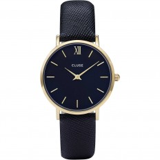 Cluse Watch Only Time Woman Gold Midnight Blue Minuit Collection