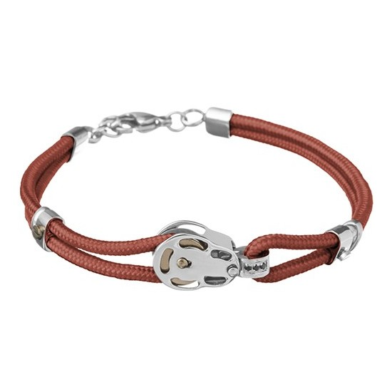 Lorenz Men's Bracelet Red/Block