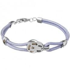 Lorenz Men's Bracelet Lilac/Block