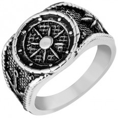 Lorenz Men's Ring Wind Rose