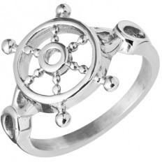 Lorenz Men's Ring Ship's Wheel