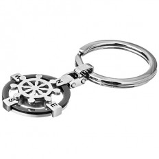 Lorenz Men's Key - Rings Ship's Wheel