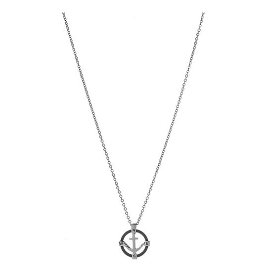 Lorenz Men's Necklace Anchor Pendant