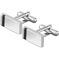 Lorenz Mens' Cufflinks Rectangular
