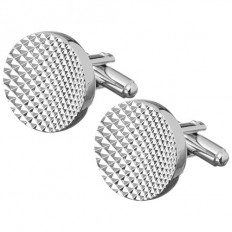 Lorenz Mens' Cufflinks Rounded