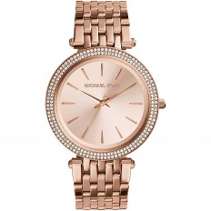 Michael Kors Women's Watch Only Time Darci Collection Rose Gold