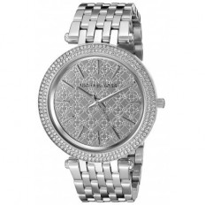Michael Kors Women's Watch Only Time Darci Collection Silver