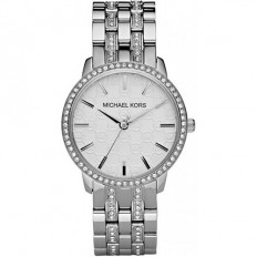 Michael Kors Women's Watch Only Time Silver/Crystals