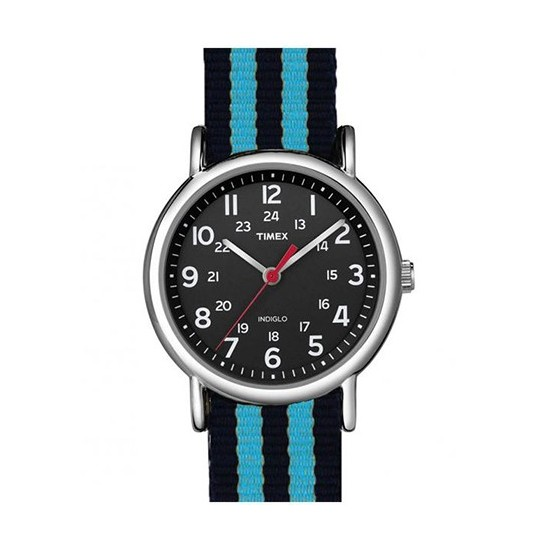 Timex Unisex Watch Only Time Weekender Collection Blue/Black