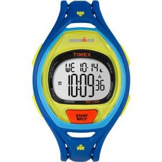 Timex Iroman Digital Watch Sleek 50 Collection Blue