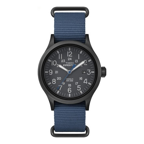 Timex Men's Watch Only Time Scout Collection Blue