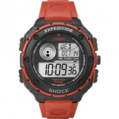 Timex Unisex Digital Watch Base Shock Collection