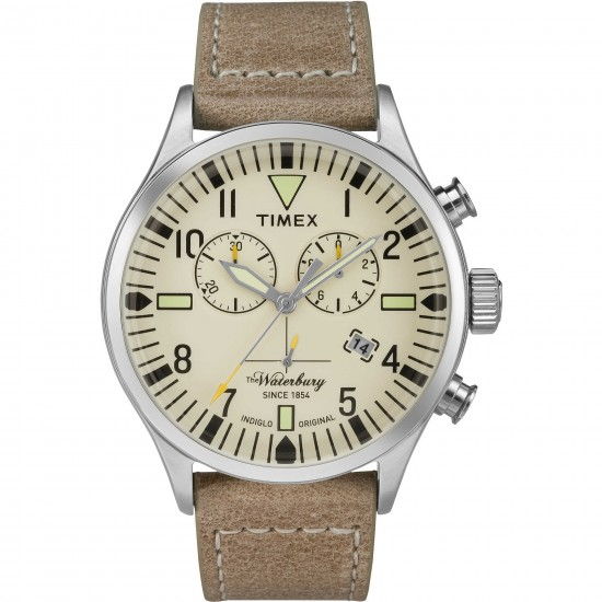 Timex Men's Watch Chronograph Waterbury Collection