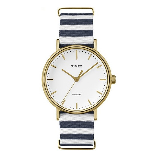 Timex Women'sWatch Only Time Weekender Collection White/Blue
