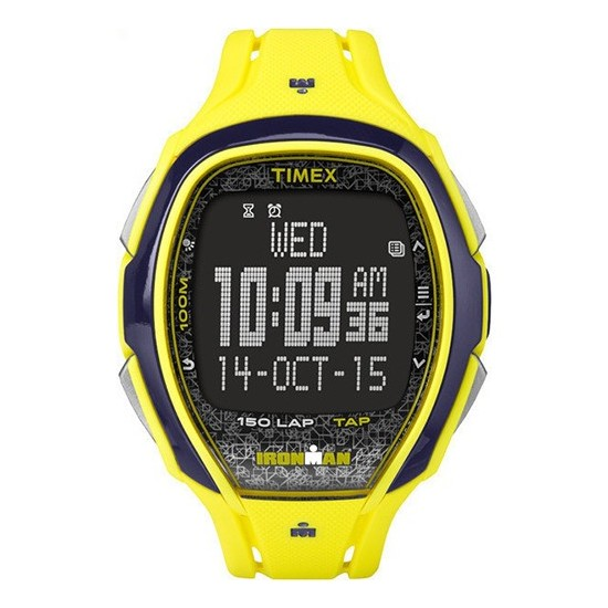 Timex Iroman Digital Watch Sleek 150 Collection Yellow