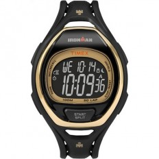 Timex Iroman Digital Watch Sleek 50 Collection Gold/Black